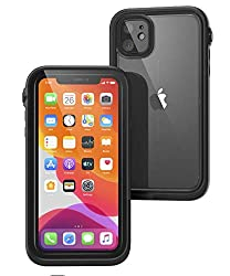 professional IPhone 11 waterproof case with drawstring, transparent back, military quality, water resistant up to 33 feet, …