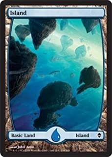 Magic: the Gathering - Island - Full Art (234) - Zendikar - Foil