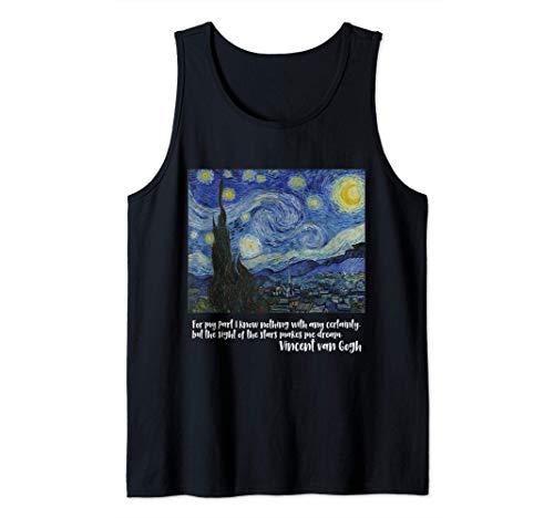 Noche estrellada de Vincent van Gogh - Camiseta de tirantes (Sin Manga