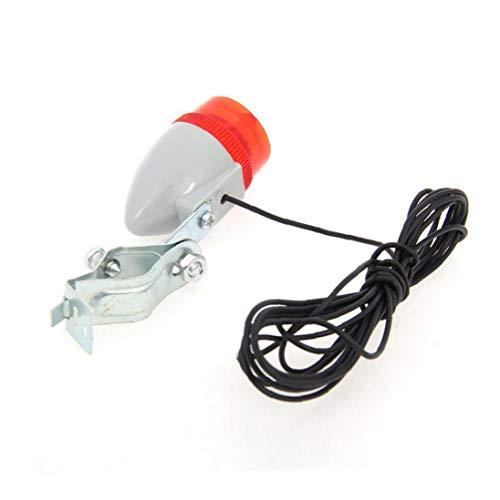 impulsado autónomos 6V 3W Ciclismo dínamo LED de la Cola de la Linterna y la luz de la Bici Piloto Posterior Conjunto de luz de Seguridad para Bicicletas, Equipo al Aire Libre