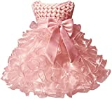 Jup'Elle Little Baby Girl Dress Flower Ruffles Party Wedding...