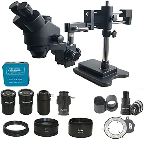 Luckya Microscope 3.5X-90X Double Boom trinocul Focal Simul Zoom Popular product Max 81% OFF