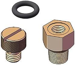 Orbit 10 Pack (40 Total) Universal Bleed Plug Replacement for Brass Anti-Siphon Valves - Repair Sprinkler Valve - 4 Pack