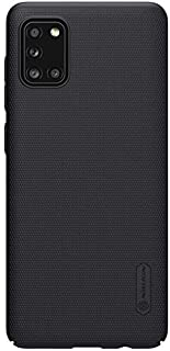 Nillkin Frosted Shield Ultra Thin Hard Plastic Back Cover Case for Samsung Galaxy A31 (Black)