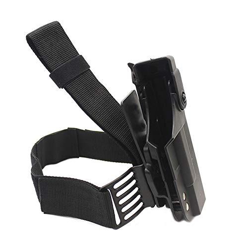 Vioaplem Pistolera Táctica For Glock 17 19 22 23 26 31 Pistola De Airsoft Pierna De La Gota De La Pistolera del Muslo De Combate del Bolso del Arma del Caso Accesorios De Caza Pistoleras