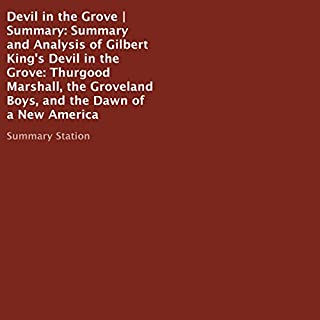 Summary and Analysis of Gilbert King's Devil in the Grove audiobook cover art