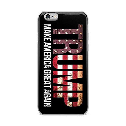 CASE LOCK LTD -Trump 2020 USA Presidential Campaign - Hard Rubber Phone case for Apple iPhone 6 Plus / 6S Plus (5.5 inch) Made and Shipped from The USA