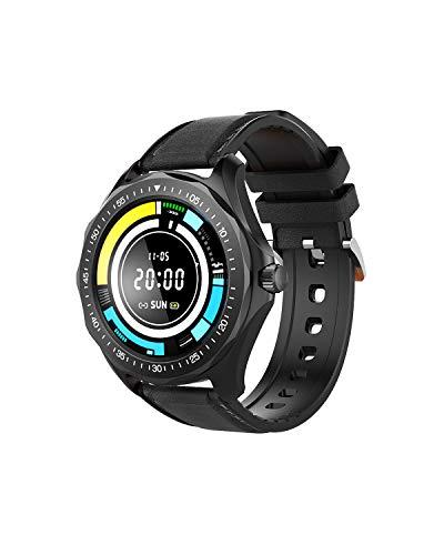 Smartwatch, BlitzWolf Reloj Inteligente IP68 Impermeable con HD Pantalla de 1.3 Pulgadas, Pulsera Actividad con Pulsómetro, Monitor de Sueño, Notificación de Llamadas y Mensajes para Hombre Mujer