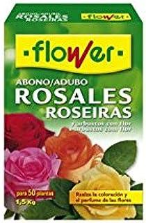 Flower 10596 - abono Rosales, 1, 5 Kg: Amazon.es: Jardín