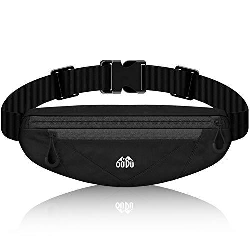 Fanny Packs for Men & Women Cute, Running Belt Waist Pack Bag with Adjustable Strap - Travel Sports Running Phone Holder for iPhone Samsung