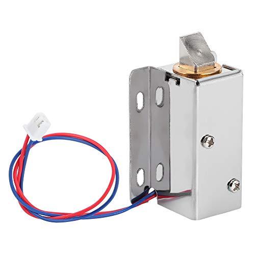 Cerradura electromagnética de hierro inoxidable DC 12V Cerradura electromagnética en miniatura Cerradura de Control eléctrico para caja de cajones de gabinete