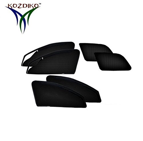 Kozdiko Zipper Magnetic Sunshade for Chevrolet Tavera Set of 6 Pcs