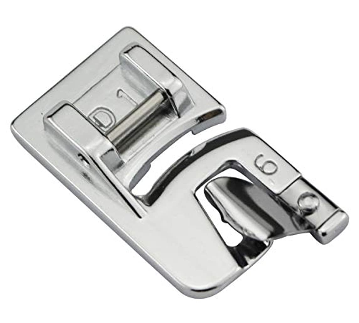 DREAMSTITCH 202080006 Snap On Hemmer Presser Foot 6MM for 9mm Max Stitch Width Machines for Janome,Elna Sewing Machine - 859404000