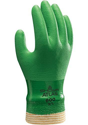 SHOWA 600, PVC – Beschichtung, Mehrzweck, Grün, 9/L