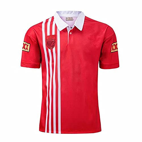 WEIXIA Camisa Deportiva de fútbol Informal para Australia Maru Home Football Jersey red3