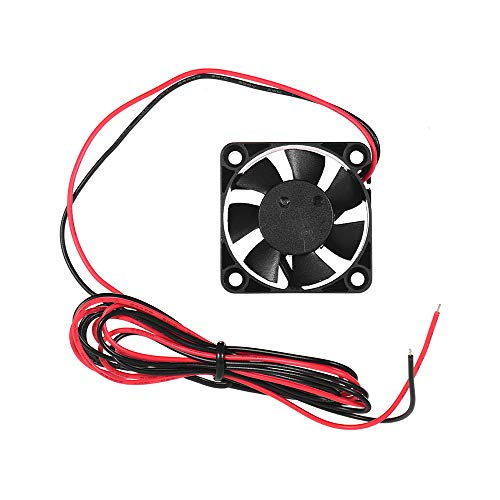 Aibecy Ventilador de enfriamiento sin escobillas 4010 40 * 40 * 10 mm 24 V CC con rodamiento de bolas para extrusora de impresora 3D Ender 3