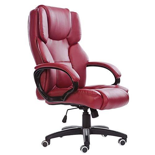 Boss stoel draaistoel Lounge (multicolor) (kleur: W rode wijn) wit