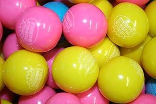 Dubble Bubble Cotton Candy 24mm Gumballs 1 Inch, 2 Pounds Approximately 110 Gum Balls.