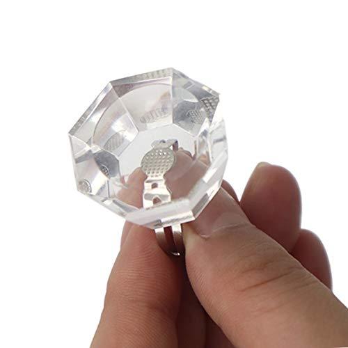 Tintenpigmenthalter Verstellbare Kristallringschale Tätowierungspigmente Behälterschale...