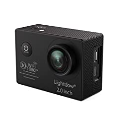 Wide Angle, Fast, Powerful Photo Capture: Captures high-quality 12MP photos at speeds of up to 30 fps. Support 12 mega pixel shooting, Camera up to 1080p/30 and 720p/60, Boasting an immersive 170°wide-angle lens. Durable + Waterproof to 98' (30m): De...
