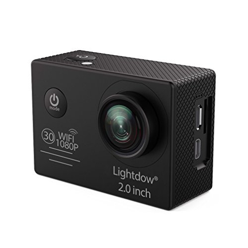 Lightdow LD6000 WiFi 1080P HD Sports Action Camera Kit