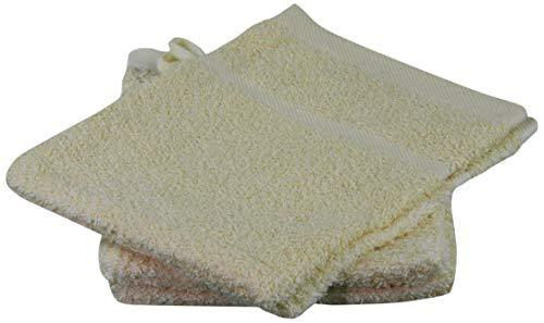 Gözze 7881-14-A1 Gants et carrés de Toilette Jaune