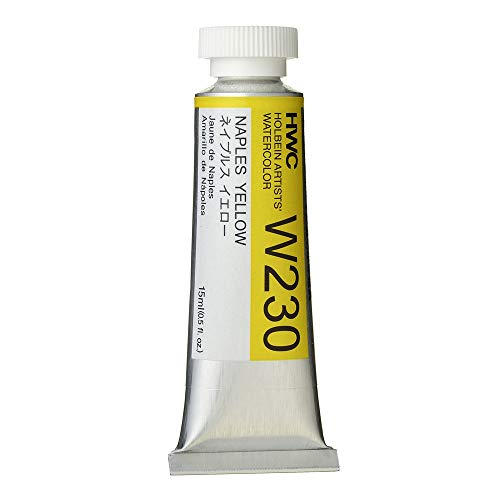 Holbein Artist's Watercolor 15ml Tube (Naples Yellow) W230