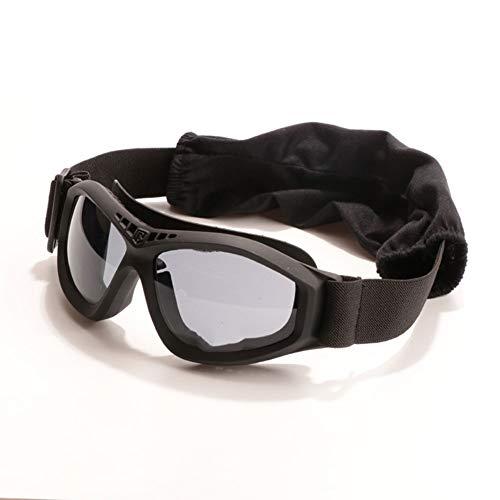 YUI Taktische Schutzbrille Desert Glasses Desert Winddicht Anti-Fog Sanddicht CS Tactical Paintball Shooting Glasses Geeignet für Erwachsene Unisex