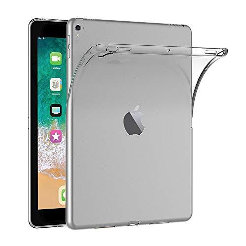AICEK Cover Compatible Apple iPad PRO 9.7 2016, Cover iPad PRO 9.7 Silicone Case Molle di TPU Trasparente Sottile Custodia per iPad PRO 9.7 2016 (9.7 Pollici)