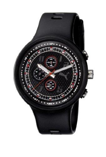 Puma Time Motorsport Herren-Armbanduhr XL Slick Chronograph Plastik A.PU910401001