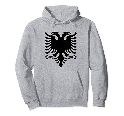 Albanien Flagge Pullover Hoodie