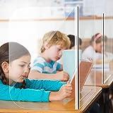 Student Desk Shields - Plastic Barrier...