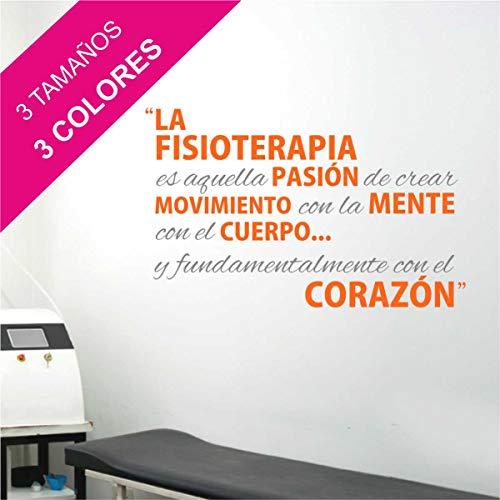 La Tienda de las Pegatinas® Vinilo Qué es Fisioterapia, Decoración Casa, Zen,...
