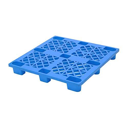 プラスチックパレット ハイグレードモデル バージン原料 1枚 約W1100×D1100×H140mm 最大荷重約2000kg 約2t フォークリフト ハンドリフト 単面四方差し 四方差し ネスティングパレット 樹脂パレット 捨てパレ パレット 軽量 プラパ