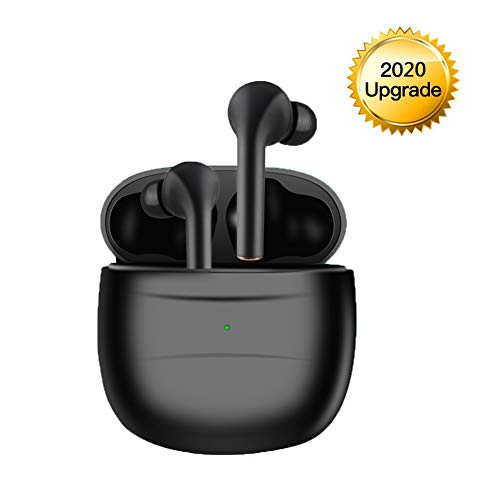Bluetooth Earbuds, Bluetoooth 5.0 Headphones Wireless Earbuds 30H Cycle Playtime in-Ear Wireless Headphones Hi-Fi Stereo Sweatproof Earphones Sport Headsets Buit-in Mic for Work/Running/Travel/Gym