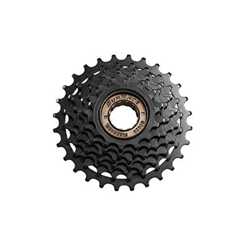 SunRace 5-Speed Freewheel 14-28T, Silver/Black