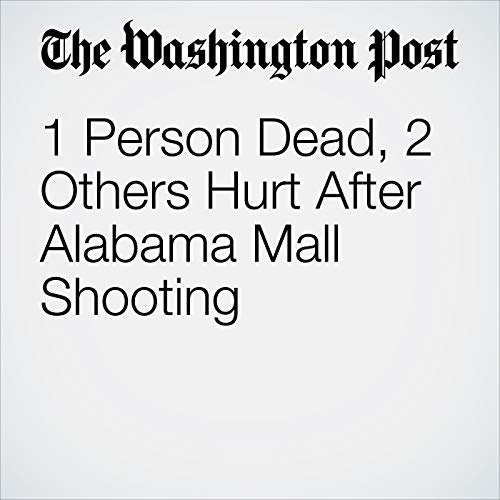 """1 Person Dead, 2 Others Hurt After Alabama Mall Shooting "" audiobook cover art"