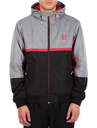 IRIEDAILY Rastron Jacket [Grey red]