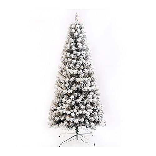 GGJJ Arbol De Navidad Adornos áRbol De Navidad Decoraciones NavideñAs áRbol De Navidad Blanco 5.9 Pies SimulacióN De Cifrado En Masa Paquete De áRbol De Nieve Que Cae