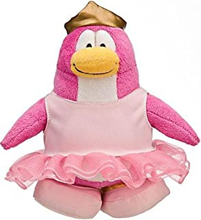 Disney Club Penguin 6.5 Inch Series 10 Plush Figure Ballerina Includes Coin with Code!