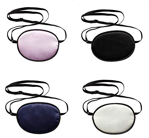 MISAZ Max 50% OFF 4 Pieces Silk Eye Patches Kids Soft Comfor Max 58% OFF for Adults and