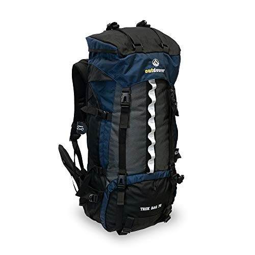 outdoorer Trekkingrucksack Trek Bag 70, Design 2019, 2kg - idealer Backpacker-Rucksack,...