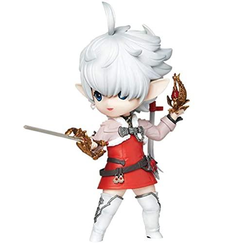 YLJXXY Final Fantasy XIV Anime Action Figur Alisaie Leveilleur 14cm Animationen Charakter Modell PVC Collection Spielzeug Dekoration Ornamente