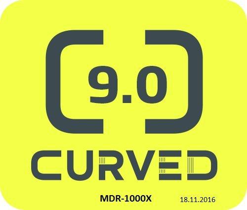 Sony MDR-1000X kabelloser High-Resolution Kopfhörer (Noise Cancelling, Sense Engine, NFC, Bluetooth, bis zu 20 Stunden Akkulaufzeit) schwarz