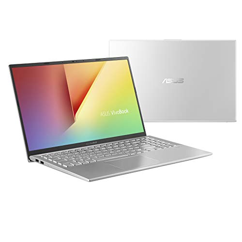 Asus Vivobook S S512UA-EJ086T PC portable 15' Argent (Intel Core i3, 8 Go de RAM, SSD 256 Go, Windows 10) Clavier AZERTY Français