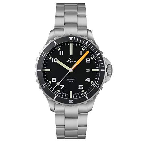 Reloj deportivo Himalaya MB de Laco – Fabricado en Alemania – 42 mm de diámetro – Reloj automático de alta calidad – Calidad excepcional – Resistente al agua 30 ATM – desde 1925