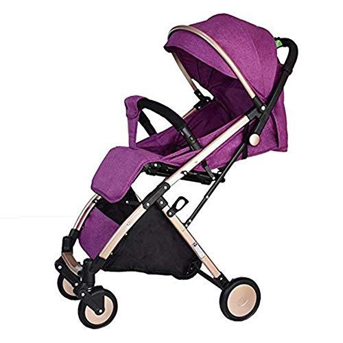Hclshops Kinderwagen Baby Travel System Cabrio Kinderwagen Kinderwagen Multifunktion, 53x106cm (Color : E1)