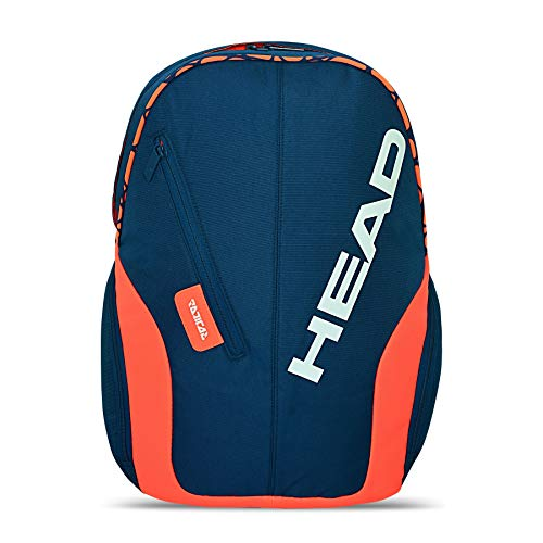 HEAD Mochila unisex Rebel, Unisex adulto, Bolsas grandes de deporte, azul oscuro, 1-3 Tennisschläger