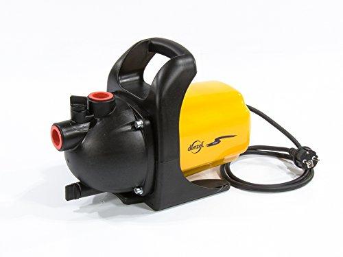DENZEL 97201 Garden Surface Pump GP600 600 W, 3000 l/h, Height 35 m, en plastique