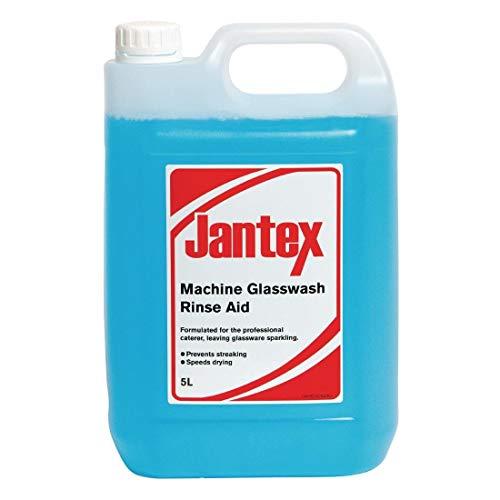 Jantex Cf979Jantex Verre Lavage liquide de rinçage, 1l x 5l